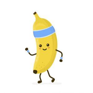バナナさん 栄養 健康